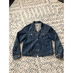 J.Crew large jean jacket